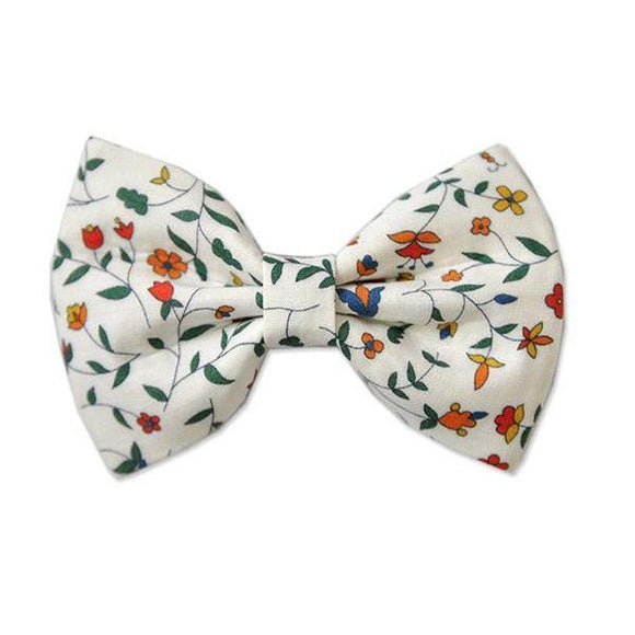 Pretty WIld Kids - Georgie Bow Hair Clip - Summer Vines