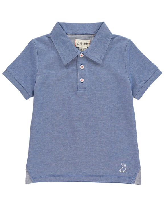 Me & Henry - Polo Shirt - Blue