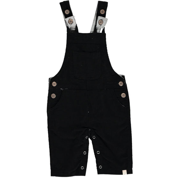 Me & Henry - Black Cord Overalls