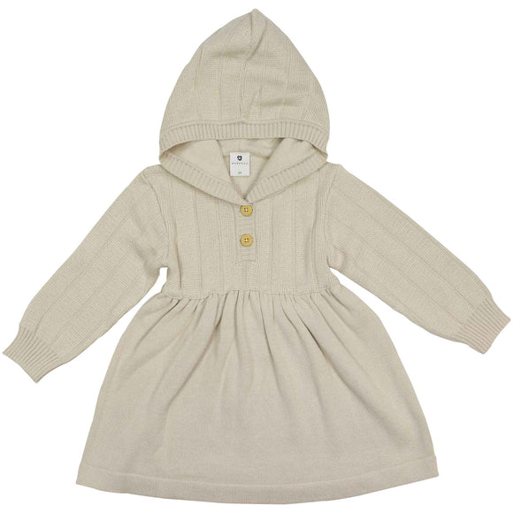 Korango Natural Girl - Knit Dress - Beige