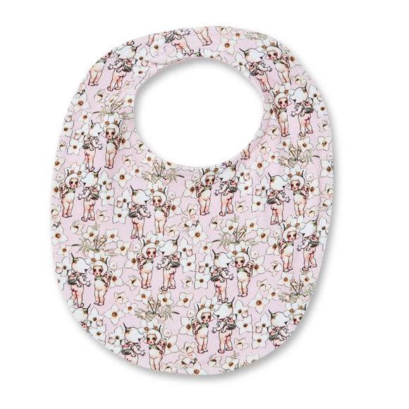Walnut Baby - May Gibbs - Bib Spring Floral