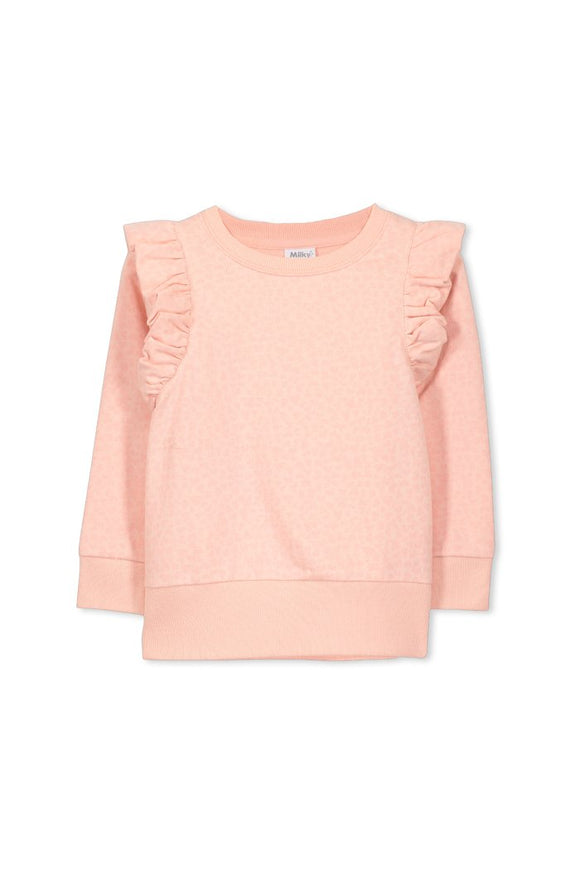 Milky - Ocelot Sweat Jumper - Blush