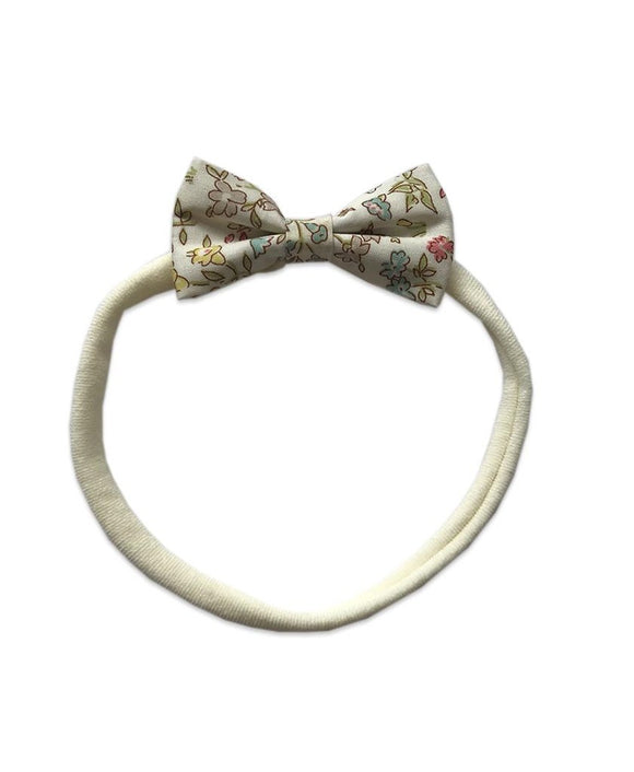 Pretty WIld Kids - Minnie Bow Nylon Headband - Danish Floral