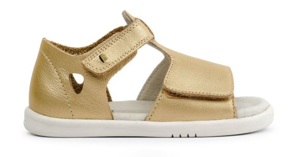 Bobux - I Walk - Mirror Sandal - Gold