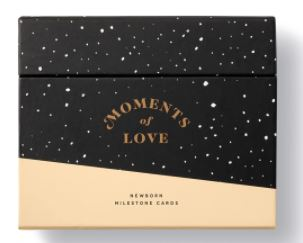 Moments of Love - Newborn Milestone Cards