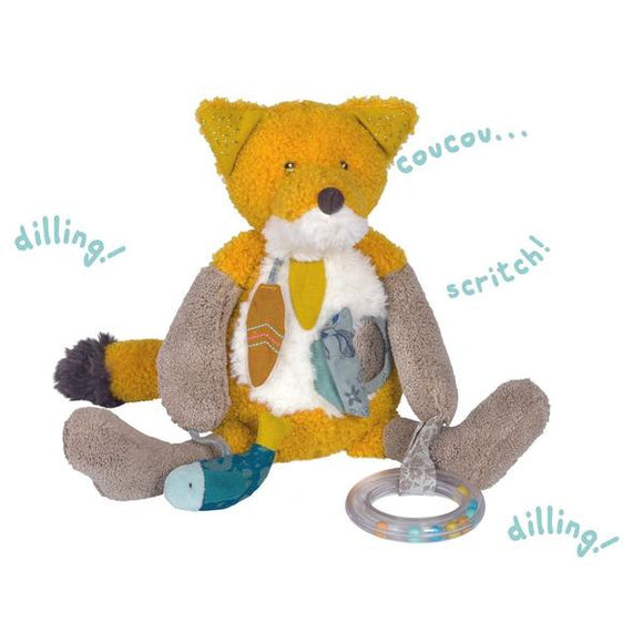 Moulin Roty - Le Voyage d'Olga – Chausette the Fox Activity Toy