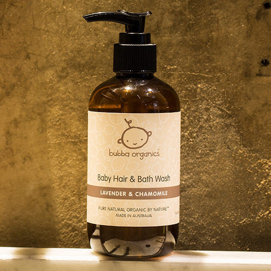 Hair & Bath Wash 250ml - Lavender & Chamomile