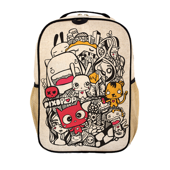 School Backpack - Pixipop Pishi
