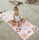 Mindful & Co Kids - Printed Kids Yoga Mats - Sweet Print