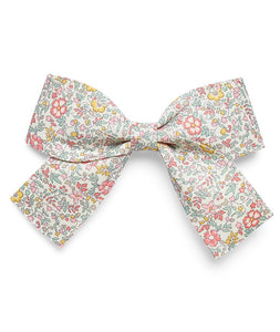 Pretty Wild Kids - Belle Big Bow Clip - Spring Flowers
