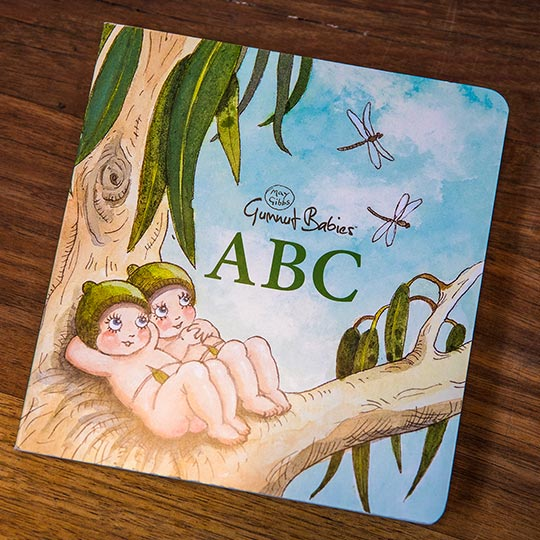 May Gibbs - Gumnut Baby ABC Board Book