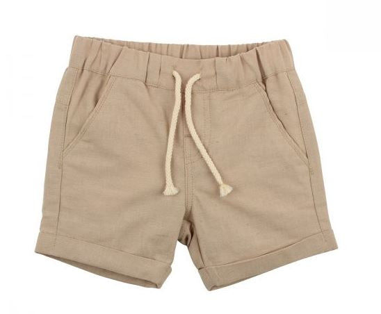 Fox & Finch - Rahh Woven Short - Beige