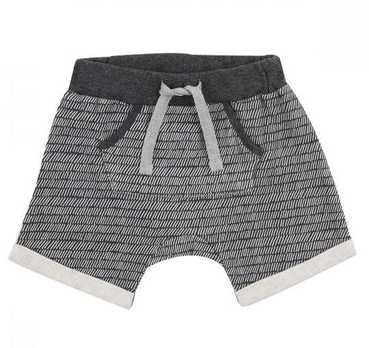Fox & Finch - Rahh Stripe Shorts - Charcoal