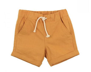 Fox & Finch - Rahh Woven Short - Yellow