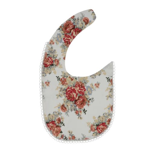 Arthur Ave - Red Floral Bib