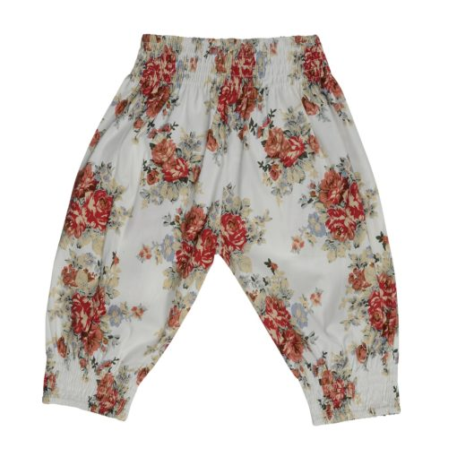 Arthur Ave - Red Floral Gypsy Pants