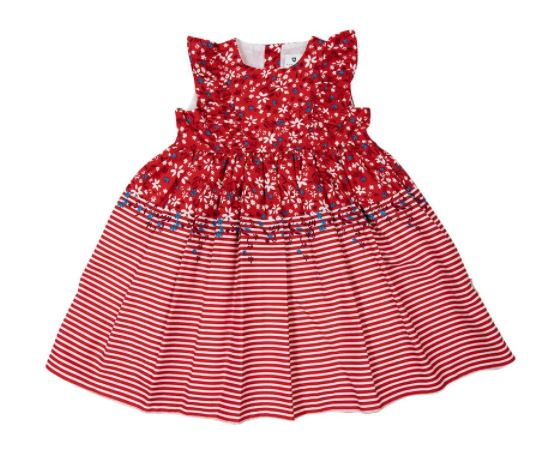 Korango - Red Floral Party Dress