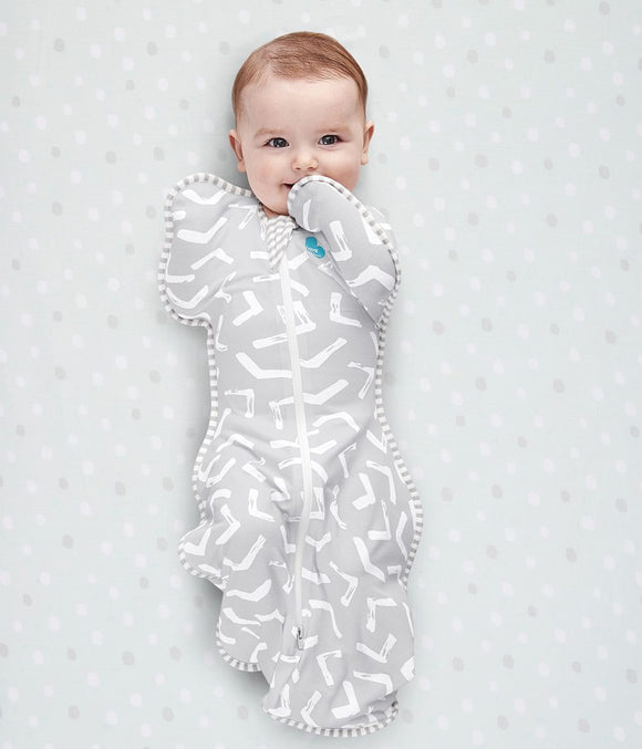 Love to Dream - Swaddle Up Bamboo Lite .2 TOG - Grey