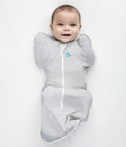 Love to Dream - Swaddle Up Lite .2 TOG - Grey Star