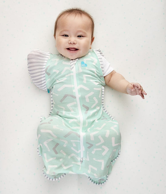 Love to Dream - Swaddle Up Transition Bag Bamboo Lite .2 TOG - Mint