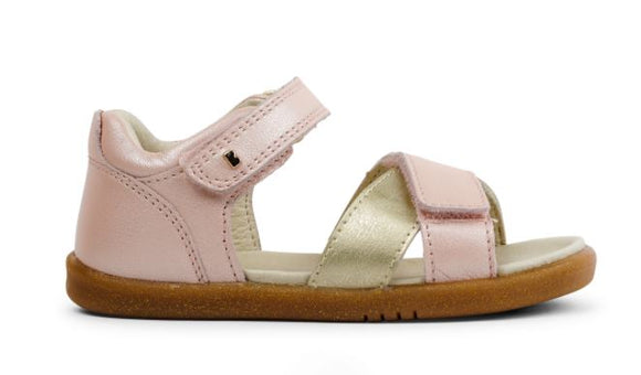 Bobux - I Walk - Sail Sandal - Seashell & Gold