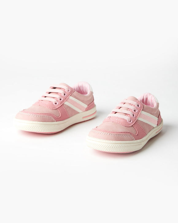 Walnut Storm LowTop Sneaker - Lolly Pink