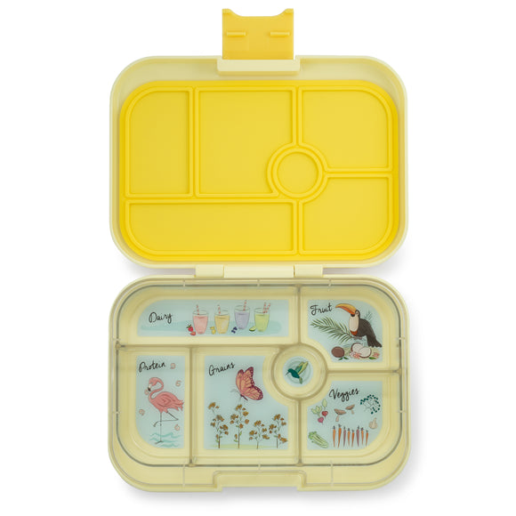 Yumbox - Original 6 Compartment - Sunburst Yellow