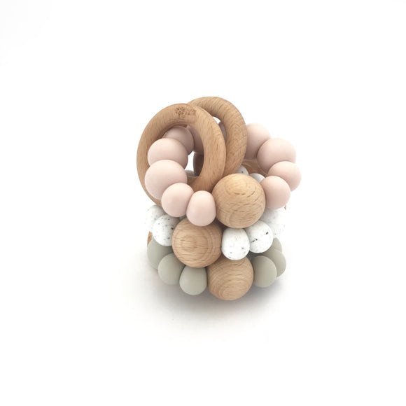 Naturebubz - Luna Rattle Teether
