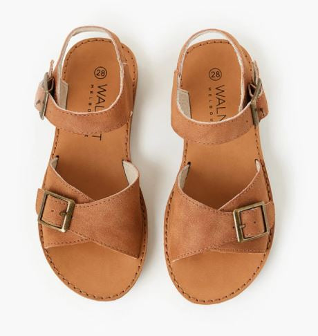 Walnut Ryder Sandal - Tan