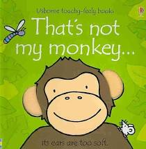 That's Not My Monkey - Touch & Feel Board Book