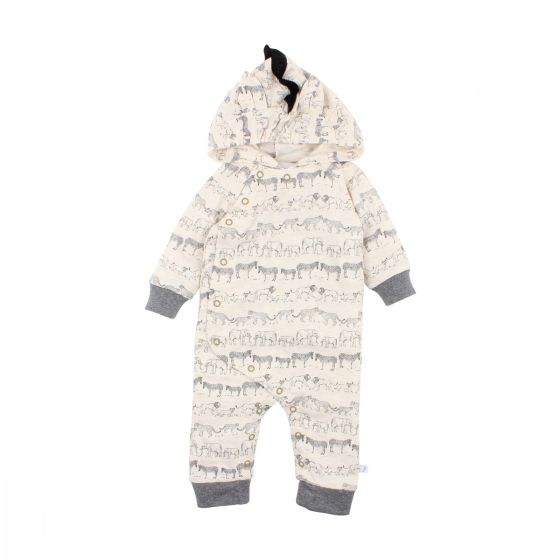 Fox & Finch - Savannah Zebra Romper - Stampede