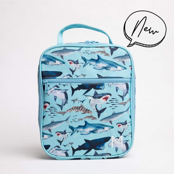 MontiiCo - Insulated Lunch Bag - Shark