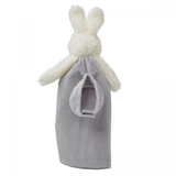 Bunnies by the Bay - Bye Bye Buddy Satin Comforter - Grady Bunny Grey