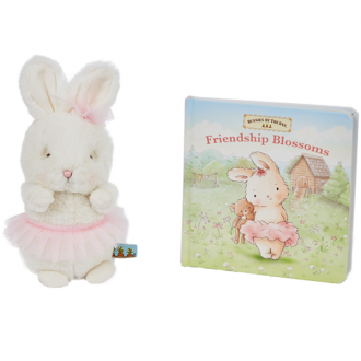 Bunnies by the Bay - Friendship Blossoms Book and Blossom Soft Toy Gift Pack