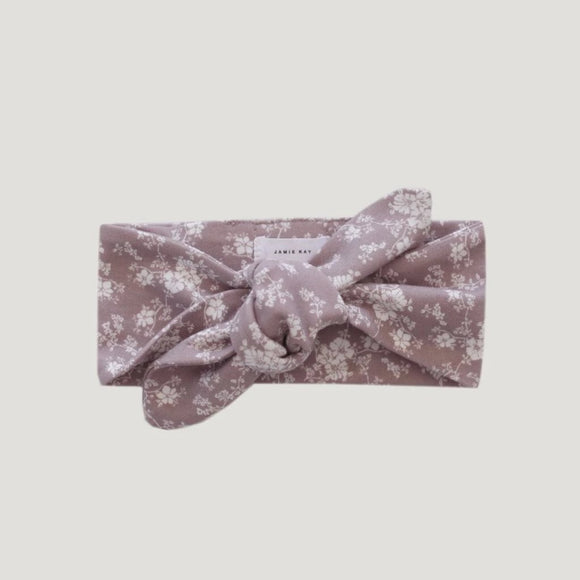 Jamie Kay Maple Drop 2 - Cotton Headband - Fawn Floral