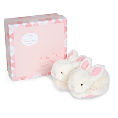 Histoire d'Ours - Bunny Booties - Pink