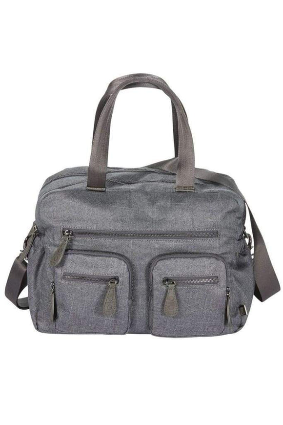 OiOi - Carry All Nappy Bag - Denim Grey