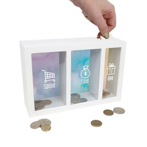 Money Box - Spend, Save, Give