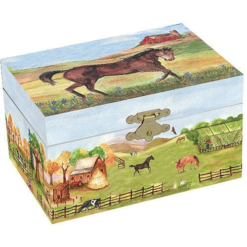 Jewellery Box - Country Horse