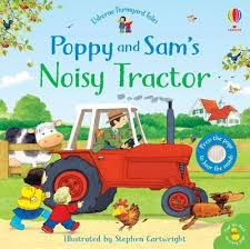 Poppy and Sam's Noisy Tractor - Sounds Board Book
