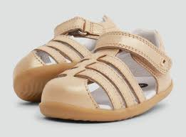 Bobux - Step Up - Jump Sandal - Gold