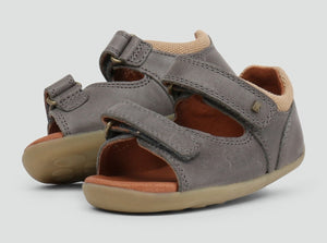 Bobux - Step Up - Driftwood Sandal - Charcoal
