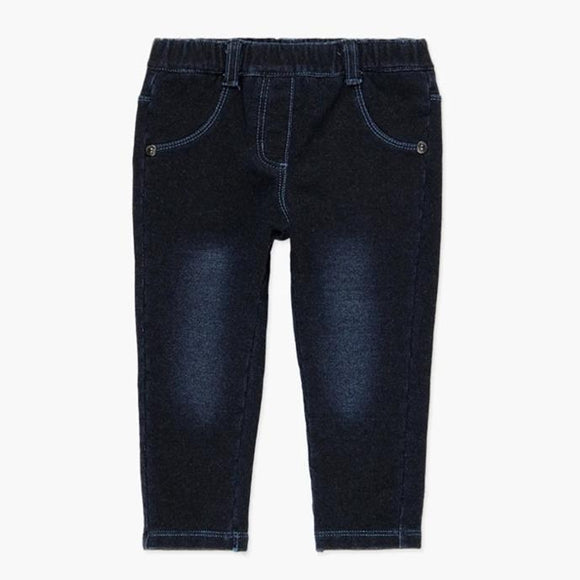 Boboli - Soft Denim Leggings - Dark Denim