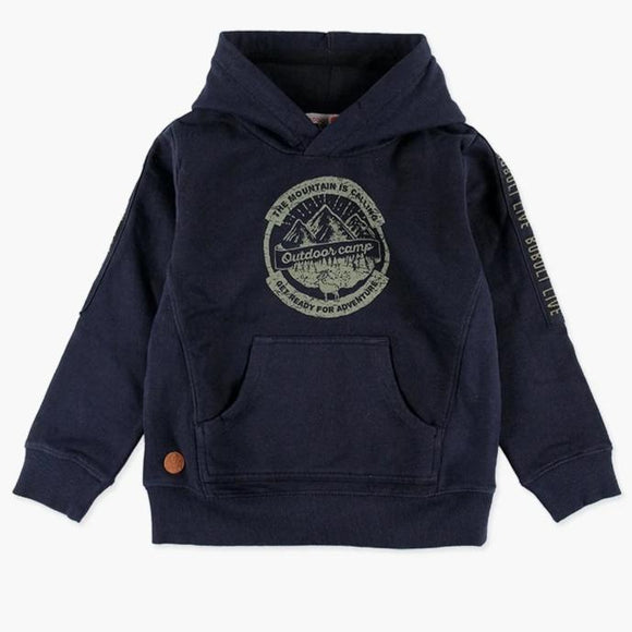 Boboli - Adventure is Calling Hoody - Navy