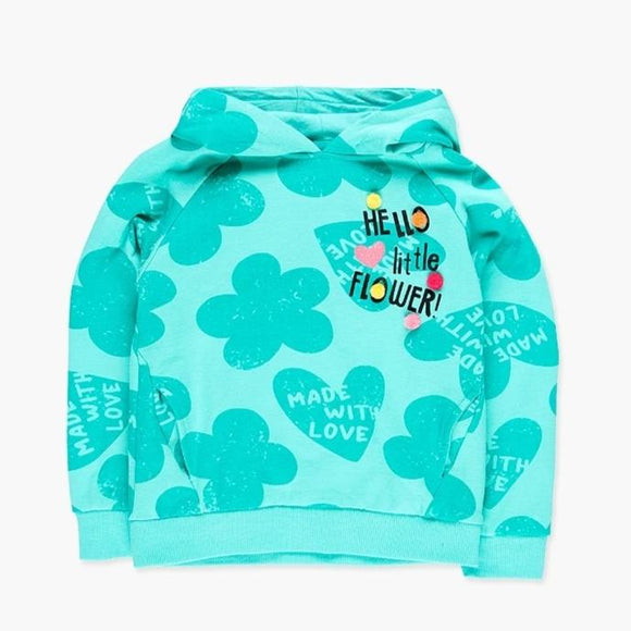 Boboli - Hello Little Flower Hoody