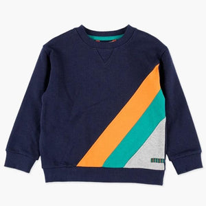 Boboli - Triangle Stripe Sweat