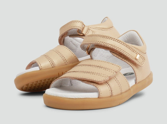 Bobux - I Walk - Hampton Sandal - Gold