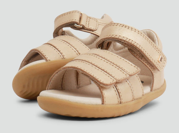 Bobux - Step Up - Hampton Sandal - Gold