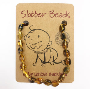 Slobber Beads - Baby Necklace - Multi