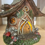 Solar Power Fairy House - Elf/Hobbit House